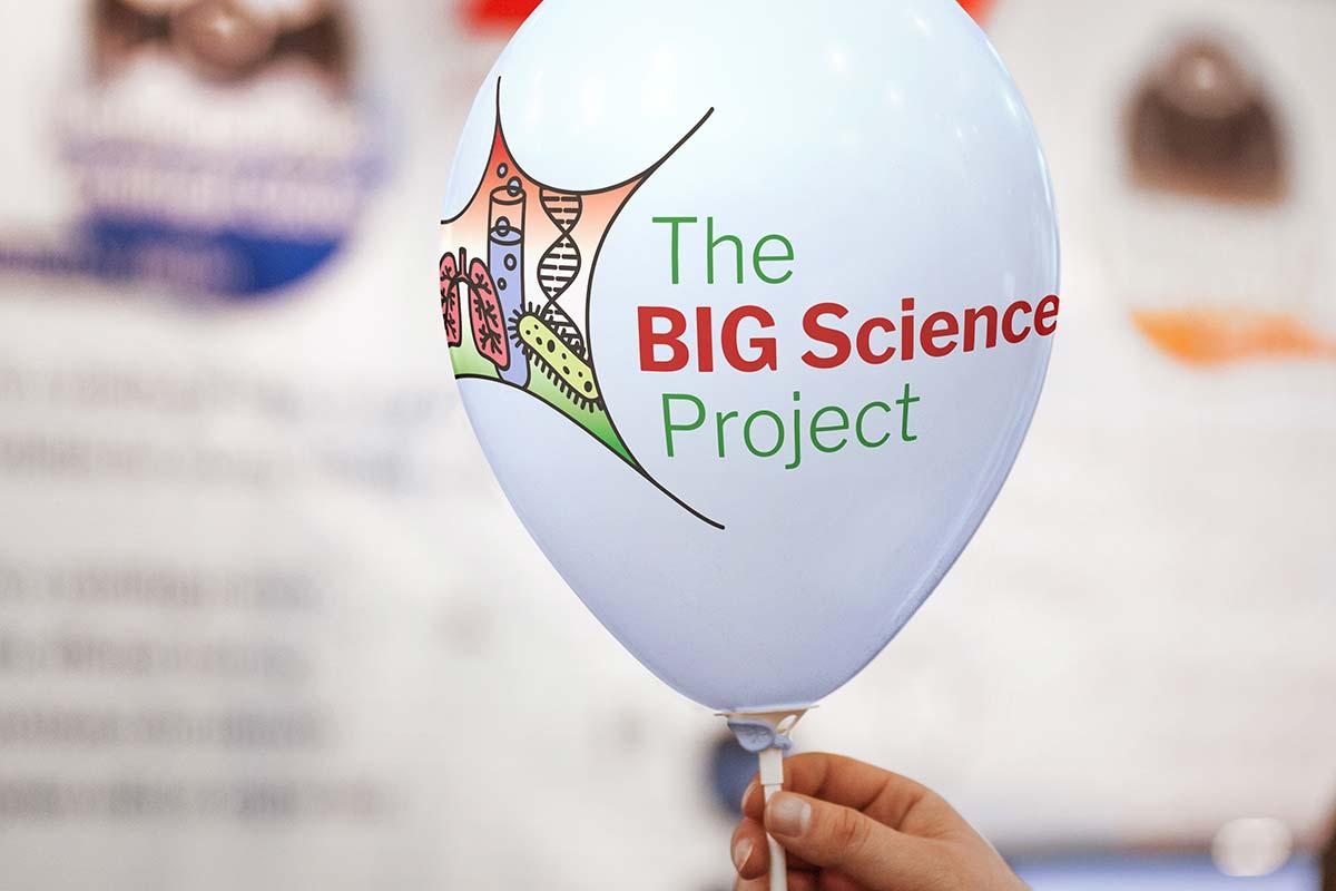 Big Science logo branding Howard Adair
