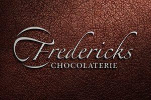 Fredericks Chocolaterie logo branding Howard Adair