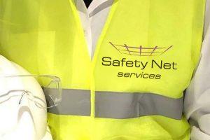Safety Net Services logo branding Howard Adair