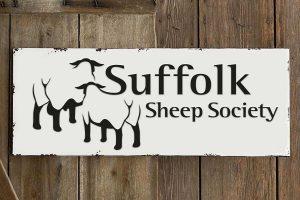Suffolk Sheep Society logo branding Howard Adair