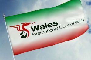 Wales International Consortium logo branding Howard Adair